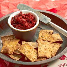 Découvrez la recette Tapenade de tomates séchées sur cuisineactuelle.fr.