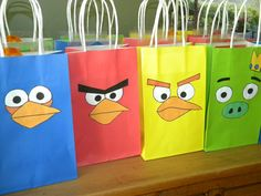 Angry Birds Party Favors. $15.00, via Etsy.