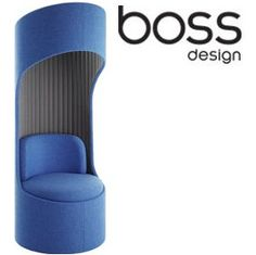 Boss Design Cega Acoustic Swivel Booth £1550 - Office Chairs