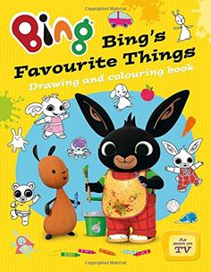 Bing's Favourite Things drawing and colouring book (Bing) by - HarperCollins Publishers - ISBN 10 0007581041 - ISBN 13 0007581041 - Get… Bing Bunny, Coloring Books, Colouring, Book Drawing, Early Learning, Pikachu, Preschool, Activities, Drawings