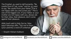 """The Prophet ﷺ used to tell #humanity, """"Be careful from la`nat, curse,"""" and he ﷺ…"""