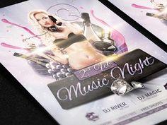 RookieDraftt - Mucis Night Flyer by AlexLasek