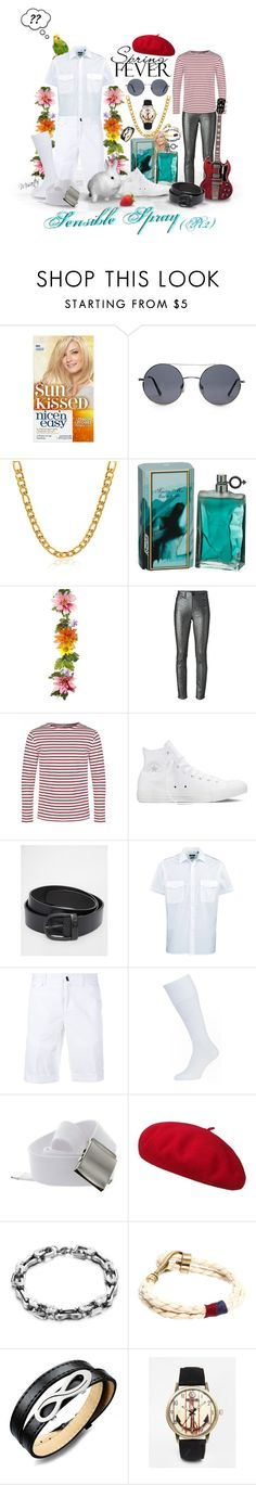 """""""Be the Captain of Your Ship with ... SENSIBLE SPRAY! ... (You know it makes sense!)"""" by misartes ❤ liked on Polyvore featuring beauty, Forever 21, Isabel Marant, Converse, Diesel, Incotex, Icon Brand, Reclaimed Vintage, humor and humour"""