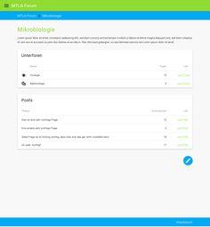 Forum concept (in progress)