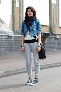 Lazy casual and nice (: