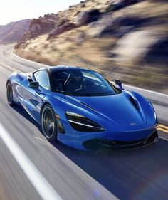 Mclaren Senna Yanos Blue On Road 720x1280 Wallpaper Cars Cars