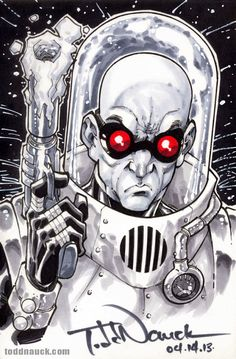 Mr. Freeze by Todd Nauck