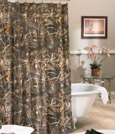 Realtree Max 4 Shower Curtain 07141010000km
