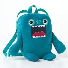 Fuzzy Monster Backpack