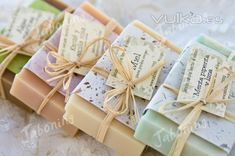 Natural soap packaging