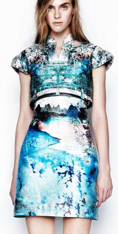A Journey Into Mary Katrantzou's Fashion Landscapes | Yatzer