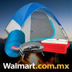 ¿Ya tienes plan para las vacaciones de Semana Santa? ¿Qué te parece acampar con tus amigos? Checa aquí los paquetes que tenemos para camping. Walmart.com.mx, Hacemos Clic!