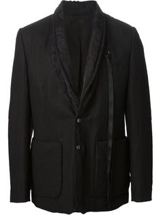Shop Ann Demeulemeester jacquard detail jacket in Degli Effetti Men from the world's best independent boutiques at farfetch.com. Over 1000 designers from 60 boutiques in one website.