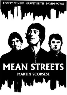 Mean Streets - movie poster - Neil McClements