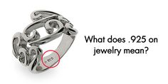 1000 images about eve 39 s blog reads on pinterest america for What does 925 ksj mean on jewelry