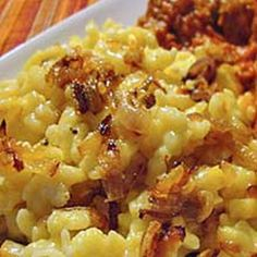 German Cheese Spätzle with Cheese