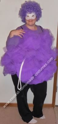 Coolest homemade orbit girl costume work party costumes and funny loofah homemade costume solutioingenieria Image collections