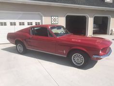 Ford Mustang Fastback - 1968 Mustang Fastback 1968, Classic Cars, Vintage Cars, Classic Trucks