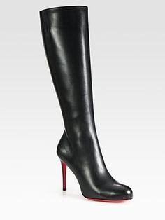 Soooo Classy....Christian Louboutin Knee-High Boots