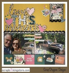 Love This Moment scrapbook layout by Melissa (@melissabier) using our gorgeous September 2020 Kit ✂💯✂  Scrapbooking Store now offers more adorable items at our scrapbookingstore.com/shop Be sure to check them out and get amazing discounts!💝  #scrapbookingstore #iam2020 #scrapbooklayout #scrapbookingkits #papercraft #scrapbooking #cardmaking Baby Scrapbook, Scrapbook Paper, Scrapbooking, Cardmaking, Cheer, September, Layout, In This Moment, Kit