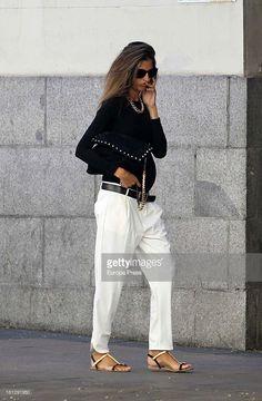 Ines Domecq is seen on September 19, 2013 in Madrid, Spain.