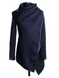 Women's Fashion Loose Irregular Outerwear – USD $ 37.19