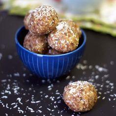 Date Energy Balls. One of my favorite go-to snacks! Vegan & Paleo, too.