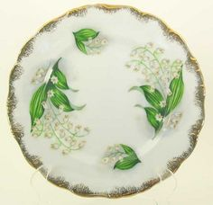 lily of the valley side plate