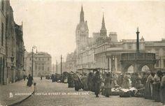 Granite City, City By The Sea, Aberdeen, Taj Mahal, Scotland, History, Travel, Painting, Vintage
