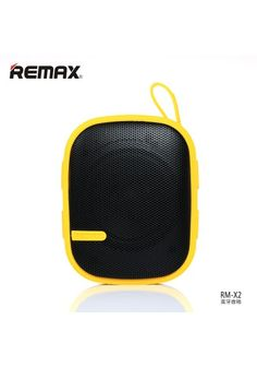 REMAX BLUETOOTH RM-X2 Bluetooth speakers yellow
