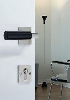 Walter Gropius door handle by Tecnoline