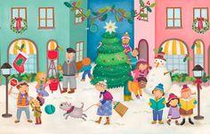 Describing Winter - Christmas Festivities. Visit: www.emilieslanguages.com or https://www.facebook.com/emilieslanguages #emilieslanguages