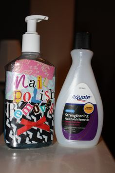 The right and easy way to use and store nail polish remover
