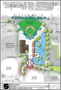 The Miracle League Field: Ankeny, IA Kiwanis Club  All-inclusive playground: designed for children with disabilities