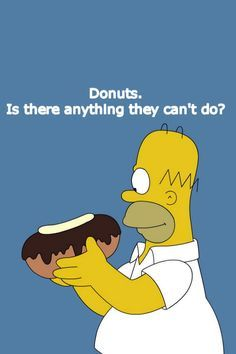 Stupid on Pinterest | Homer Simpson, The Simpsons and Donuts