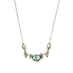 Cool Heather Marquis Cluster Necklace with 18k Gold Marquis | Alexis Bittar