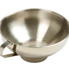 Norpro Stainless Steel Wide Mouth Canning Preserving Funnel 5 Wide Canning Water, Canning Jars, Peach Moonshine, Homemade Heating Pad, Kitchen Utensils, Kitchen Dining, Preserves, Stainless Steel, Stuff To Buy