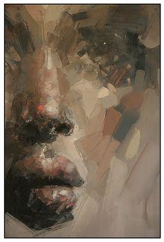 ryan hewett (b South Africa) L'art Du Portrait, Abstract Portrait, Art Visage, Inspiration Art, Face Art, Figure Painting, Artist Art, African Art, Figurative Art