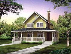 House Plan 55028 | Farmhouse Narrow Lot Vacation Plan with 1479 Sq. Ft., 3 Bedrooms, 3 Bathrooms at family home plans