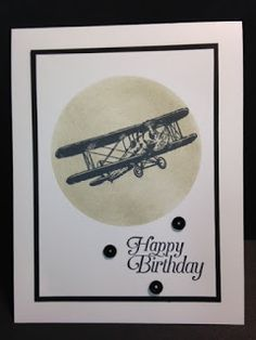 Sky is the Limit, Masculine Card, 2016 Sale-a-Bration, Birthday Card, Stampin' Up!, Rubber Stamping, Handmade Cards