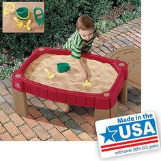 Step2 Naturally Playful Sand Table - Walmart.com