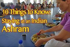 Things to know about staying at an indian ashram  #india #ashram #yoga