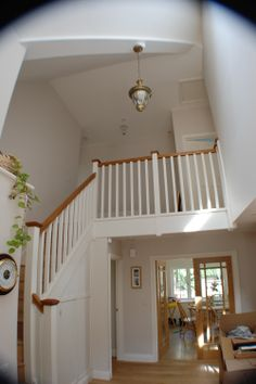 Feature Light Over Stairs And Down Lights On The Landing | Lighting |  Pinterest | Lights And House