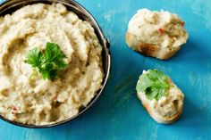 Smoky Eggplant and Yogurt Dip More