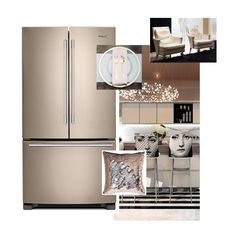 Sunset Bronze by Whirlpool Appliances-contemporary kitchen mood board by Toronto Designer Amanda Forrest.