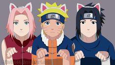 Sakura , Naruto e Sasuke Naruto Team 7, Naruto Kakashi, Anime Naruto, Naruto Cute, Naruto Funny, Naruto Shippuden Characters, Naruto Shippuden Anime, Naruto And Sasuke Wallpaper, Uzumaki Boruto