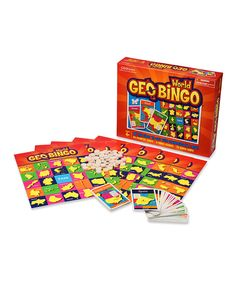 Take a look at this GeoToys World GeoBingo on zulily today!