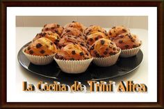 LA COCINA DE TRINI ALTEA: MUFFINS CON PEPITAS DE CHOCOLATE
