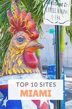 Top 10 sites Miami, FL, What to do in Miami, Best things to do in Miami, Travel Miami. What to do in Miami. Must see in Miami. #Miami #Florida #Travel #TheTopTenTraveler Florida Keys, Florida Vacation, Florida Travel, Florida Beaches, Cruise Vacation, Hawaii Travel, Usa Travel, Vacation Spots, Orlando Florida