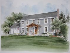 Penfield NY Home Portrait